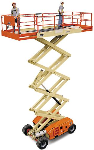 JLG 3494RT Rough Terrain Scissor Lift