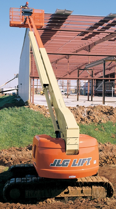 JLG 660SJC Telescopic Boom Lift on Crawlers