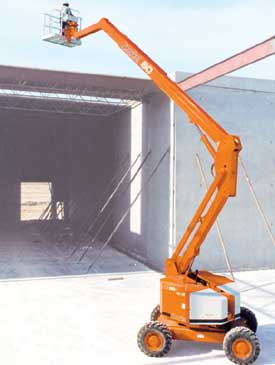 Snorkel Articulated Telescopic Boom Lift